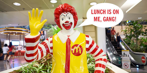 McDonald's Seems To Be Obsessed With Giving Away Free Food And Drink In The UAE At The Moment