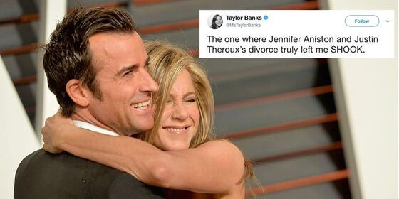 People Are Gutted About Jennifer Aniston and Justin Theroux's Split News