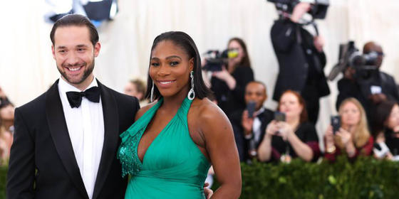 Serena Williams's Husband Just Put Up 4 Billboards With Their Baby's Face on Them