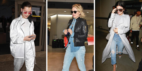 16 Fabulous Outfits For Total Airport Cool