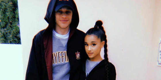 Ariana Grande And Pete Davidson Are Reportedly Engaged!