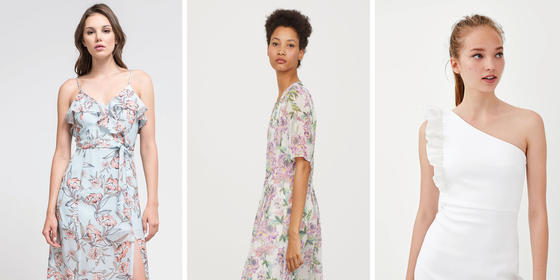 Gorgeous Summer Wedding Guest Dresses For Under Dhs500