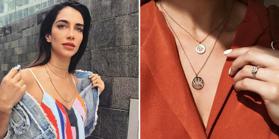 5 Ways To Layer Necklaces Inspired By Some Of The Middle-East's Top Influencers