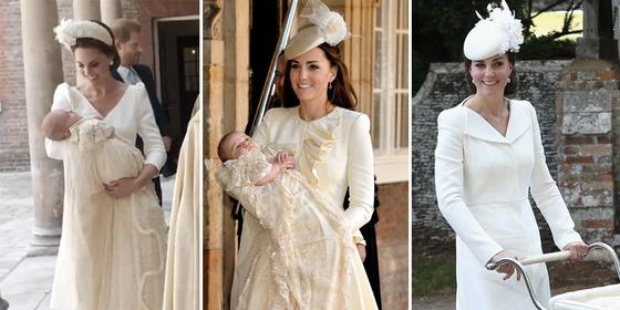 How Kate Middleton's christening outfit for Prince Louis compares to George and Charlotte's