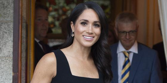 Why Meghan Markle's black dress was such a surprising choice