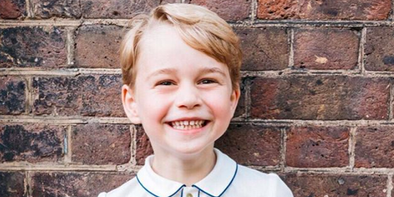 Prince George's Birthday Portrait Is Here And It's Just About The Cutest Thing Ever