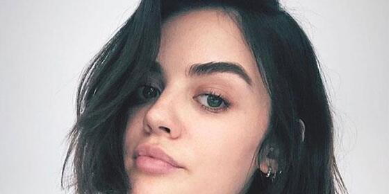 Lucy Hale Just Cut The Sweetest '90's Blunt Bob, And Now We Want A '90's Blunt Bob