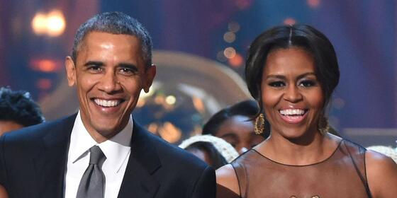 Barack and Michelle Obama Dancing at Beyoncé and Jay-Z's Concert Is All You Need in Life