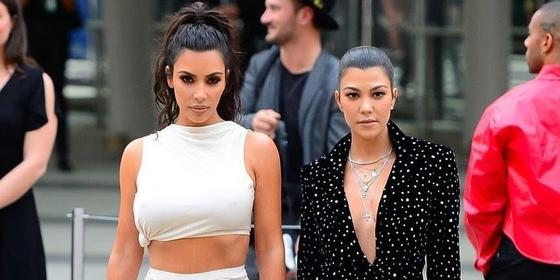 Kim and Kourtney Kardashian's Feud. Sister War Or Another Publicity Stunt?