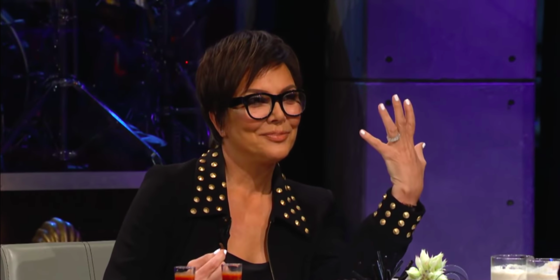 Ummmm, Kris Jenner Just Implied That She's Engaged To Corey Gamble