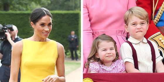 This Is How Meghan Markle Won Over Prince George And Princess Charlotte