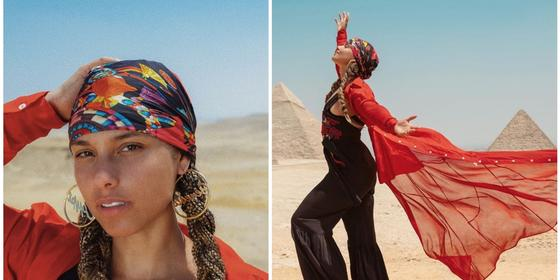 Alicia Keys Shows Us How She's Living Out Her Arabian Dream With Her Family in Egypt