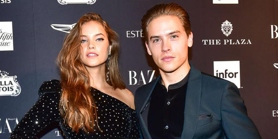 These Adorable Photos of Dylan Sprouse and Barbara Palvin at Harper Bazaar's ICONS party are Too Cute For Words