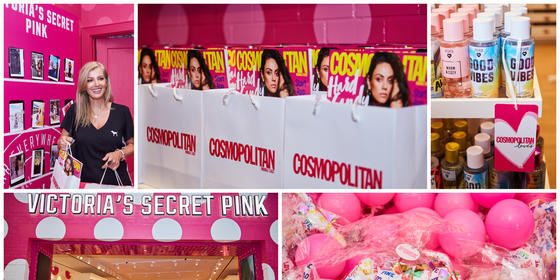 All The Fun From Cosmo's Fab Weekend With Victoria's Secret Pink