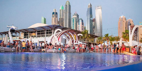 These Are The 5 Beach Clubs To Check Out In Dubai This Winter