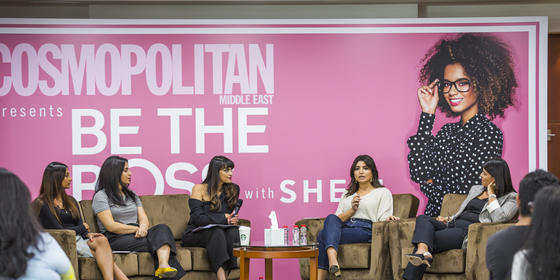 In Case You Missed Cosmopolitan Middle East's Fab 'Be The Boss' Event, Watch It All Go Down Here