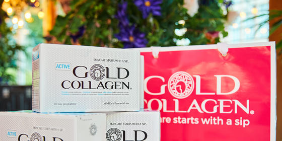 Win! A 3 Month Supply Of Gold Collagen Beauty Elixir For The Skin Of Your Dreams