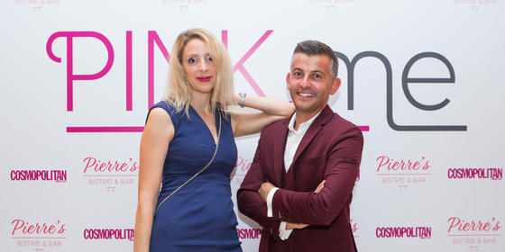 All the fun from Pierre's Bistro & Bar's Pink.Me Ladies Night With Cosmo Middle East