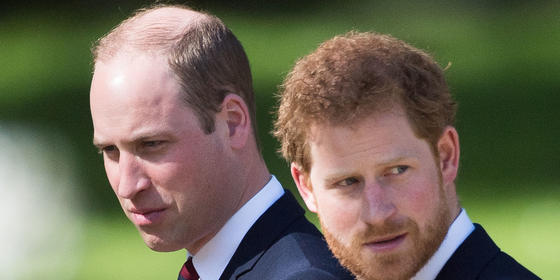 """Prince Harry Reportedly Called Out Prince William for Not """"Rolling Out the Red Carpet"""" for Meghan Markle"""