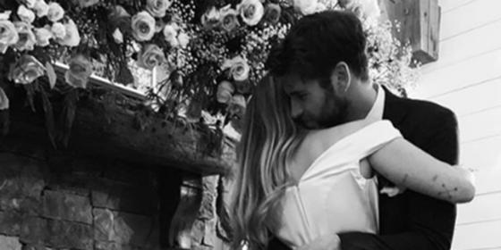 Miley Cyrus Just Confirmed Her Marriage to Liam Hemsworth with the Most GORGEOUS Photos