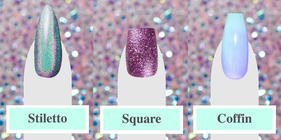 Nail Shapes Explained: From Squoval to Stiletto, Here's What They All Look Like...