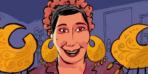 10 Things About Today's Google Doodle Comedy Icon Mary Mounib