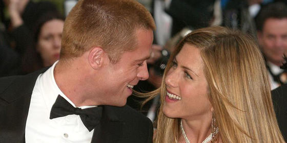 Um, Jennifer Aniston and Brad Pitt Have Been Friends for Three Years Now