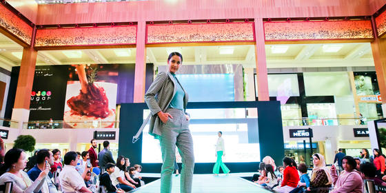 Everything That Went Down At Modest Fashion & Beauty Weekend at Yas Mall
