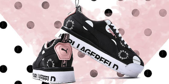 We Need This Chic Puma x Karl Lagerfeld Trainer Collab In Our Lives