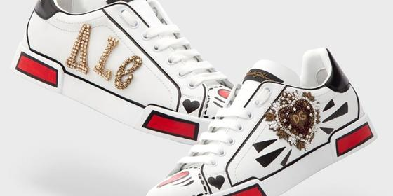 Guess What, D&G Now Let's You Stylise And Sequin Your Name On Your Shoes!