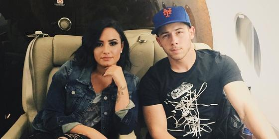 Umm, What's The Deal With Demi Lovato And Nick Jonas?
