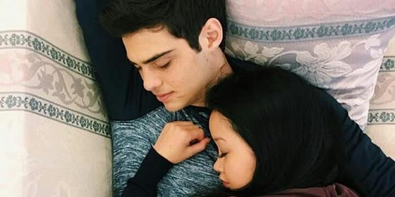 Lana Condor and Noah Centineo Are Back to Flirting on Instagram. You're Welcome