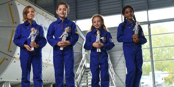 Barbie Is Collabing With The European Space Agency And Making All Our Starry Dreams Come True