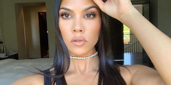 Kourtney Kardashian Shares An Amazing Stretch Mark Picture On Instagram