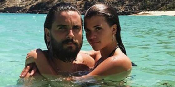Scott Disick Bought Sofia Richie A Fancy Car for Her 21st Birthday