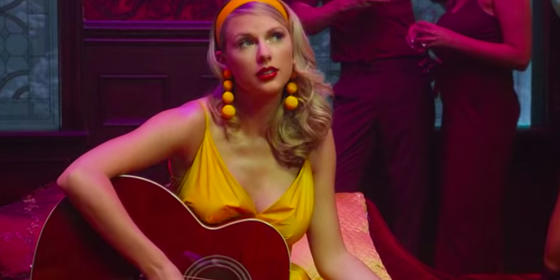 Taylor Swift Wore Stunning Jewellery From An Emirati Brand In Her Latest Music Video