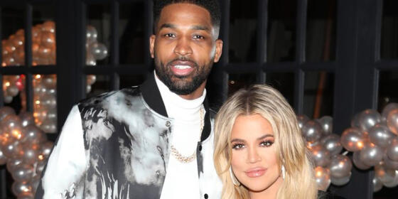 "Khloe Kardashian and Tristan Thompson are ""quarantining together"" with their daughter True"