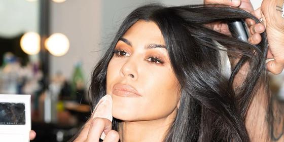 Kourtney Kardashian has an ingenious hack for making her foundation look natural