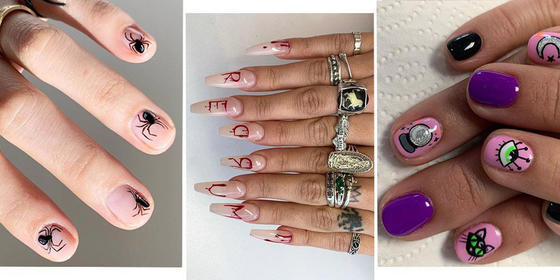 19 Awesome Nail Art Ideas To Try This Halloween