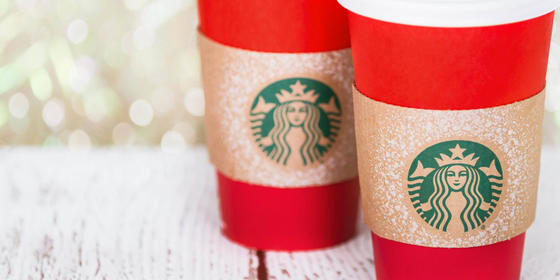 Starbucks Has Released Its Christmas Cups For 2019, Plus A Line-Up Of Cheerful Festive Drinks