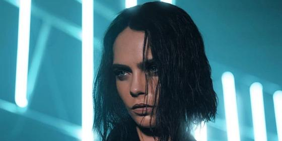 Cara Delevingne's Jet-Black Hair Has Us Reminiscing About Our Goth Phase