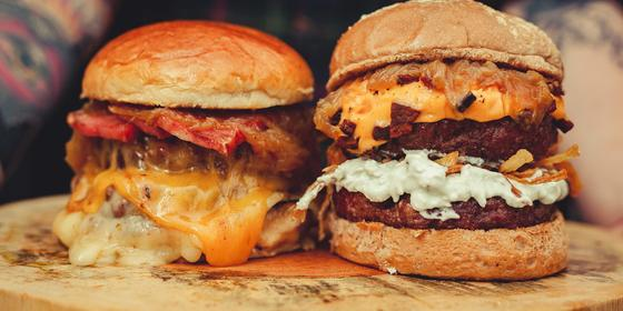 Enjoy two-for-one burgers every Saturday at Burger & Lobsters
