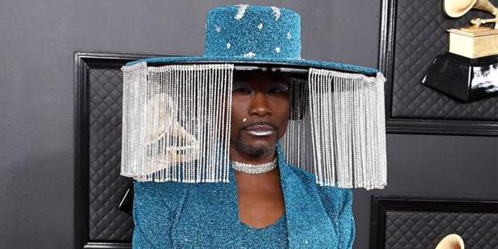 Billy Porter's Grammy outfit has become the new viral meme
