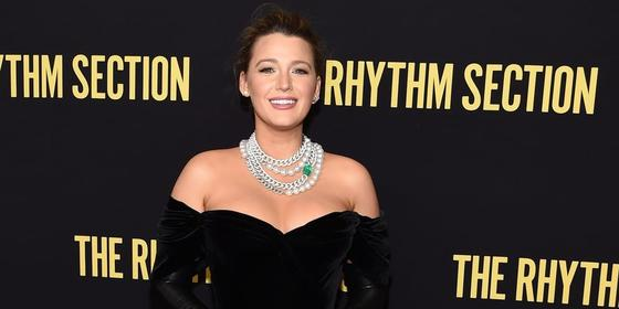 Blake Lively looks like Princess Anastasia in a ball gown with OTT diamonds