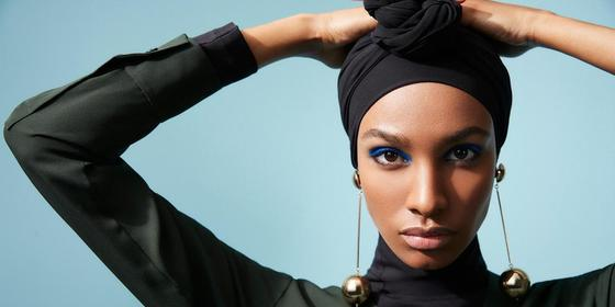 The Outnet x DVF just released their latest campaign featuring an up-and-coming hijabi model