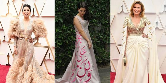 Arab designers took over the Oscars 2020 red carpet