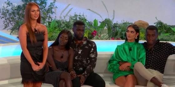 The competitors' facial reactions from tense Love Island recoupling said it all
