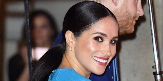 The sweet hidden message in Meghan Markle's necklace