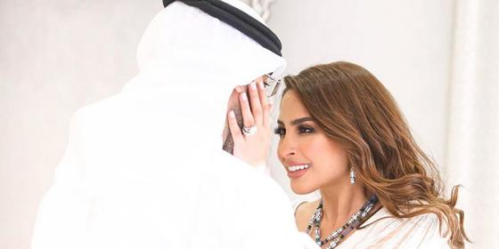 Fouz Al Fahad wore a cool Dhs3 million worth of jewellery at her engagement - no biggie