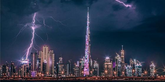 12 of the most incredible rain and lightning shots from last night